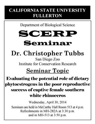 SCERP Tubbs 4-30-14